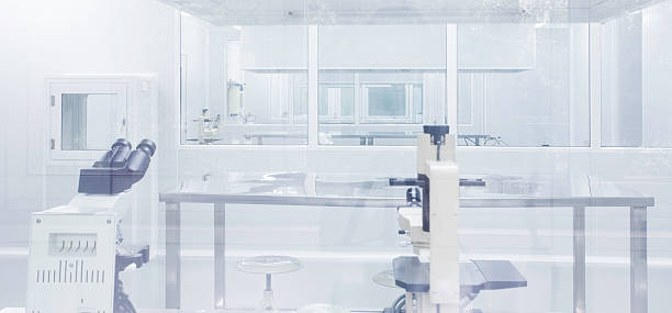 clean room in laboratory Pharmaceutical Factory Laboratory equipment in clean room,,real place cleanroom stock pictures, royalty-free photos & images