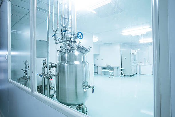 Clean Room in pharmaceutical factory