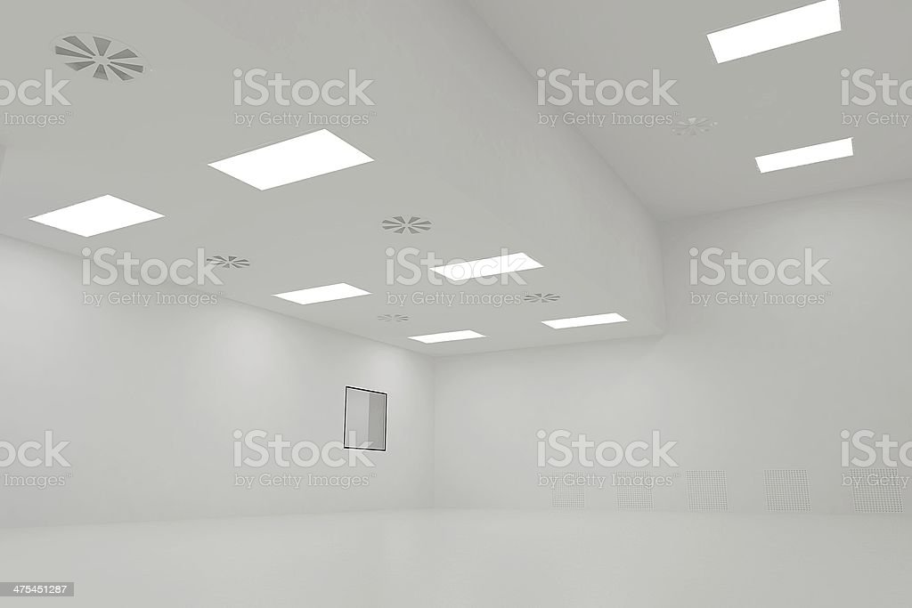 clean room stock photo