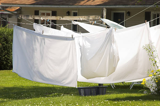 Clean Sheets stock photo
