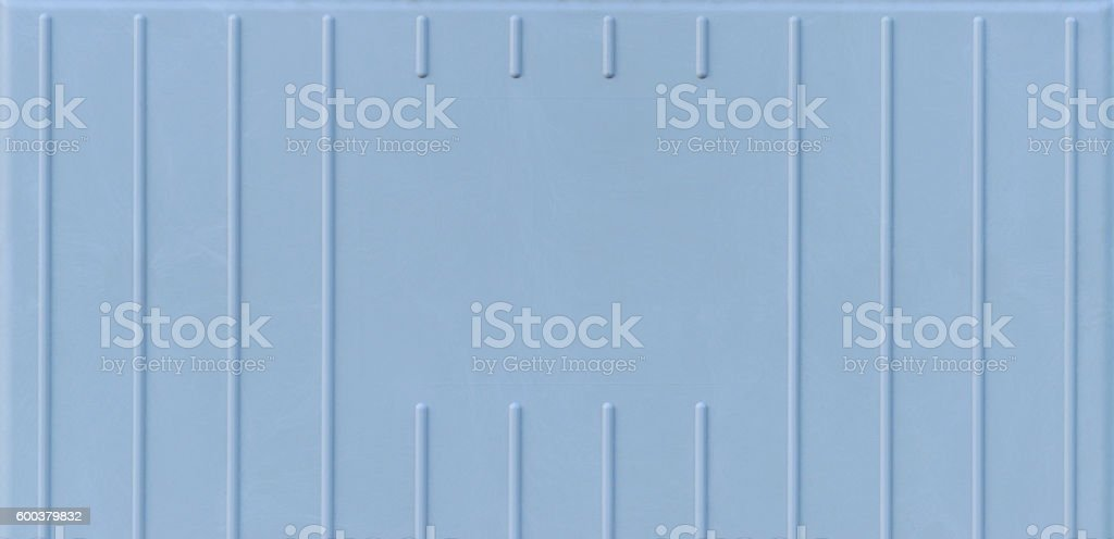 Detail of a switch cabinet. Plastic covered material, a free space in...