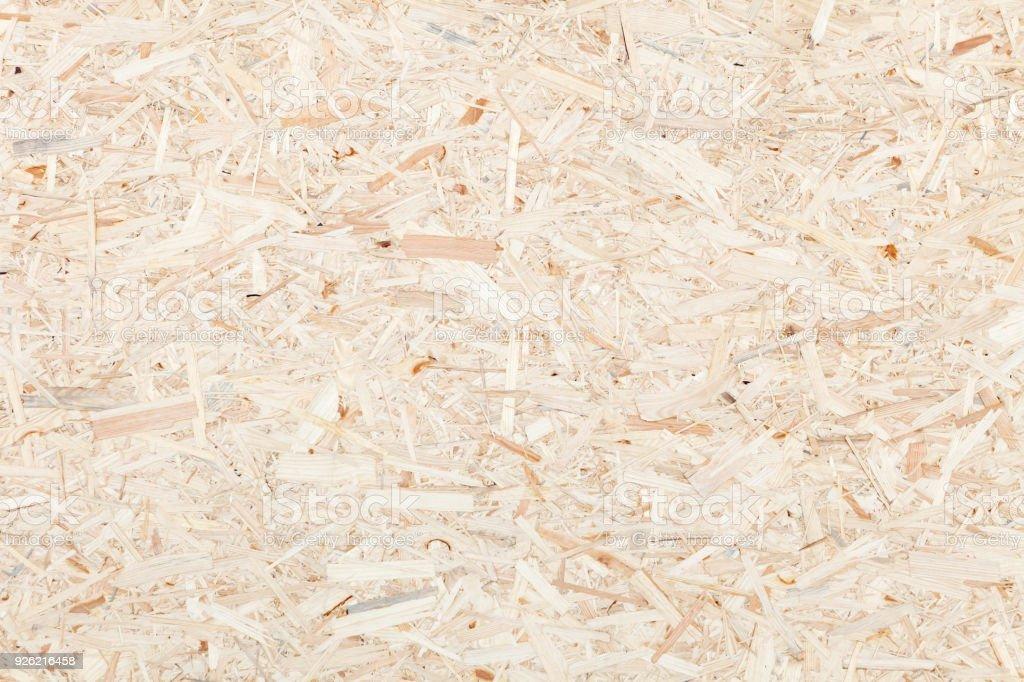 Saubere Oberfläche Holz Teilchen Board. Textur des komprimierten Holzspänen Board. – Foto
