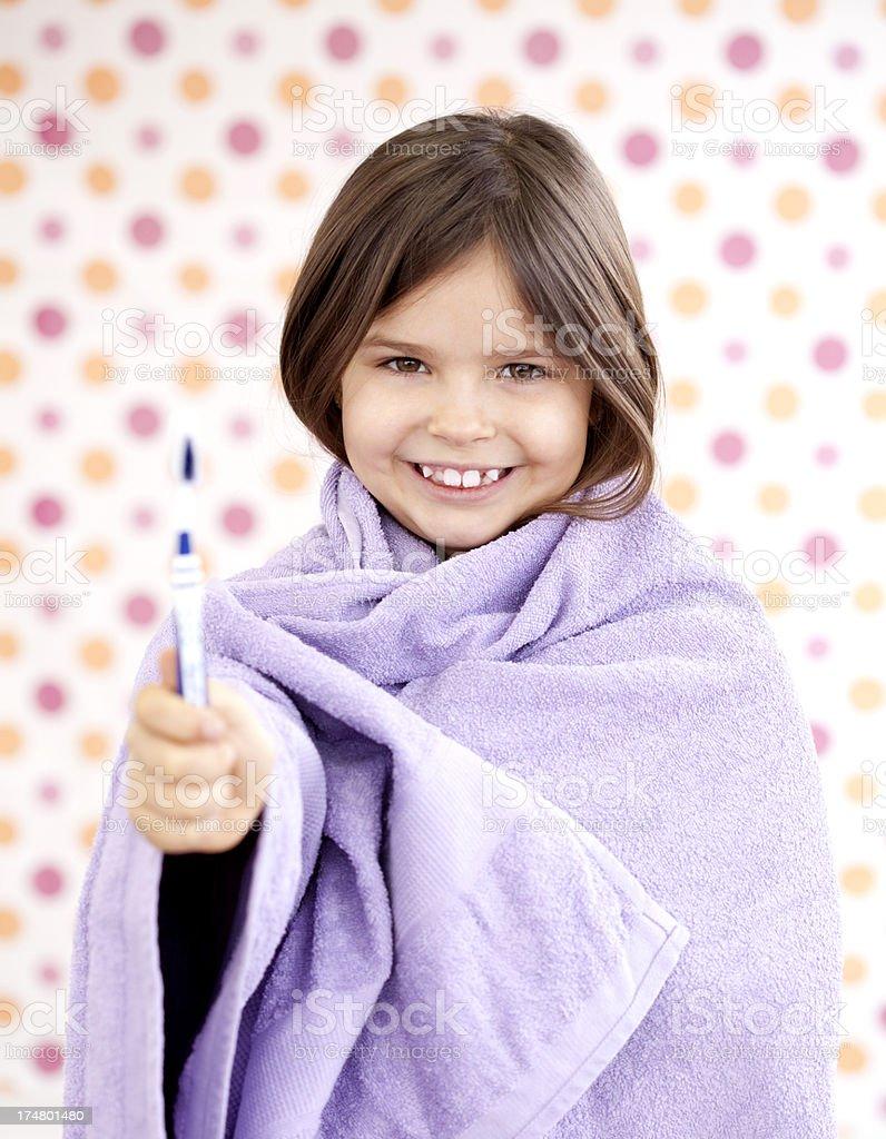clean teeth royalty-free stock photo