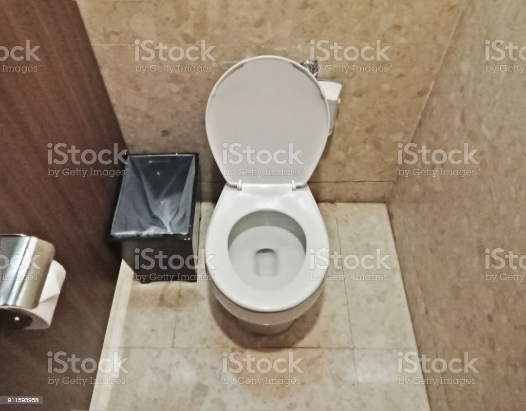Limpiar Cuarto De Baño En Punto De Vista Foto de stock y más banco ...