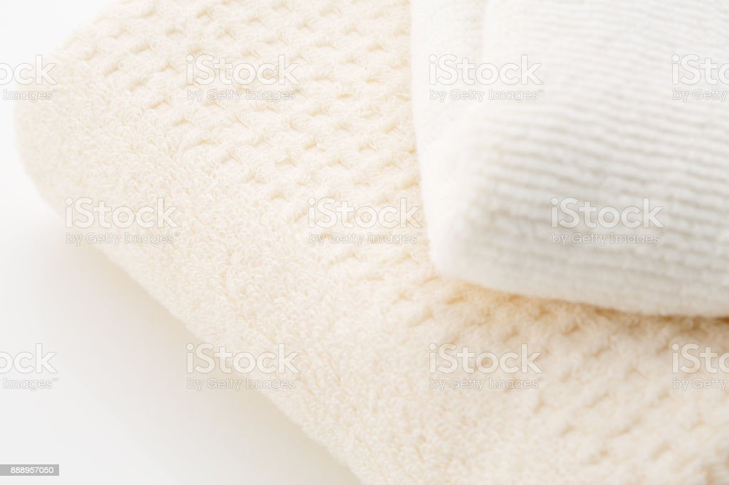 Clean towel stock photo