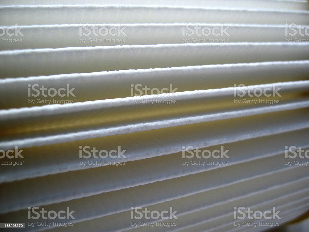 Clean Vacuum Cleaner Filter 2 royalty-free stock photo