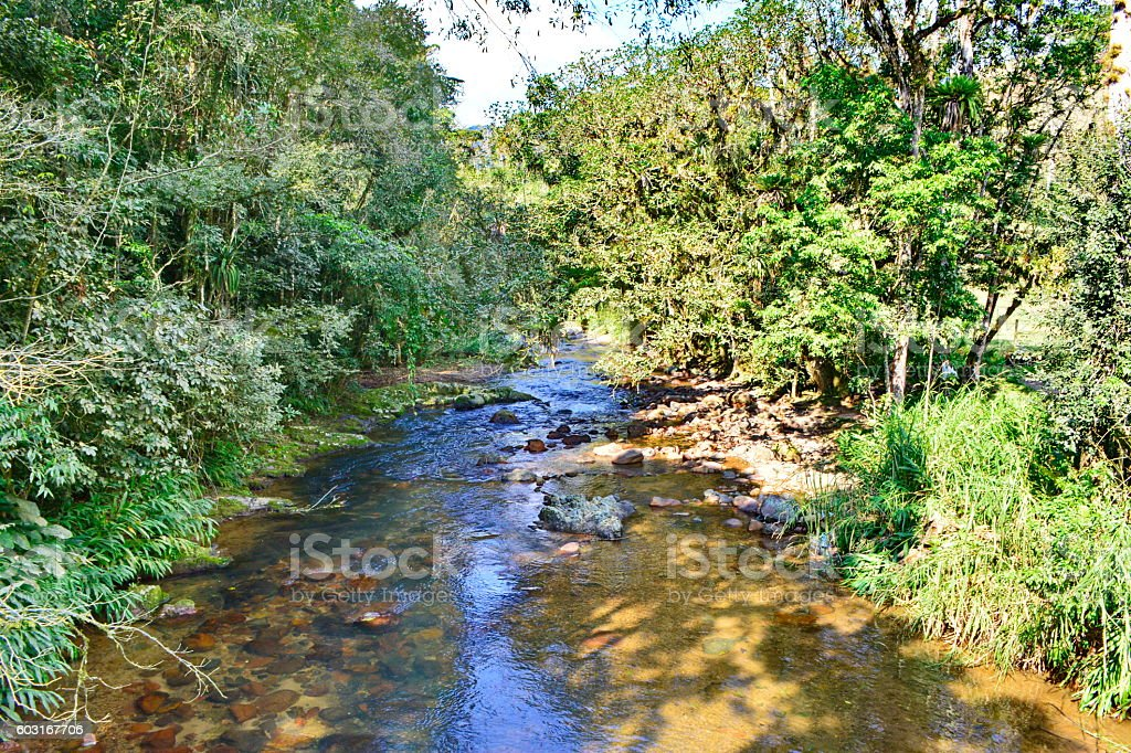 clean water river stock photo