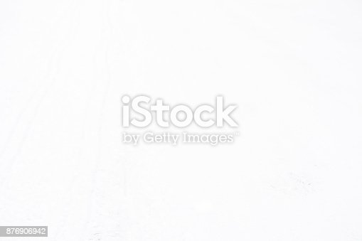629589448 istock photo Clean white background for design, snow texture, bright blank surface 876906942