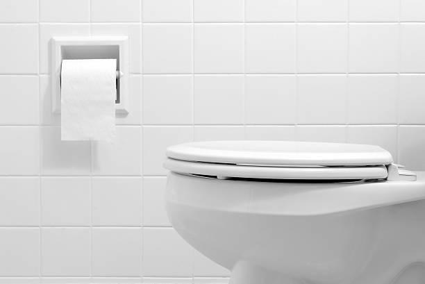 O banheiro - foto de acervo