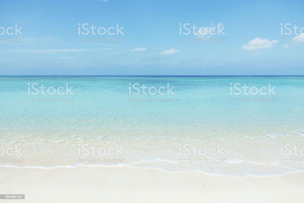 Sauber weißen beach – Foto
