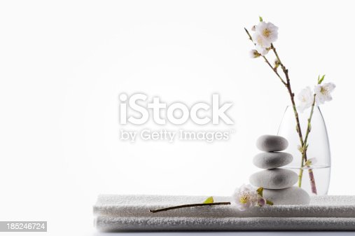 istock Clean White Spa Background 185246724