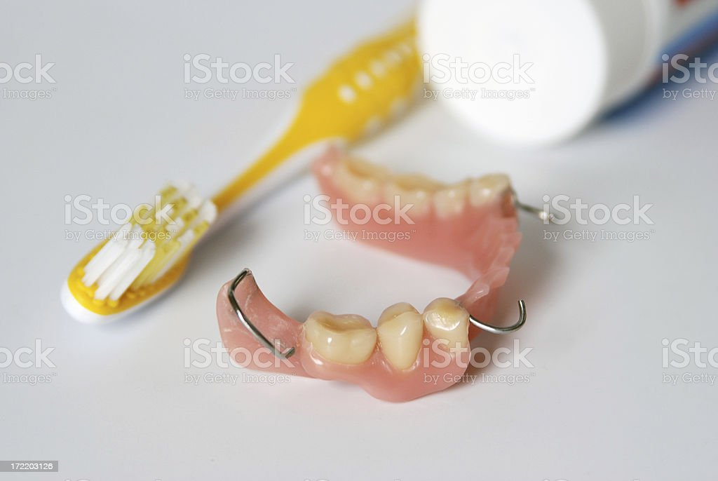 Clean your teeth! royalty-free stock photo