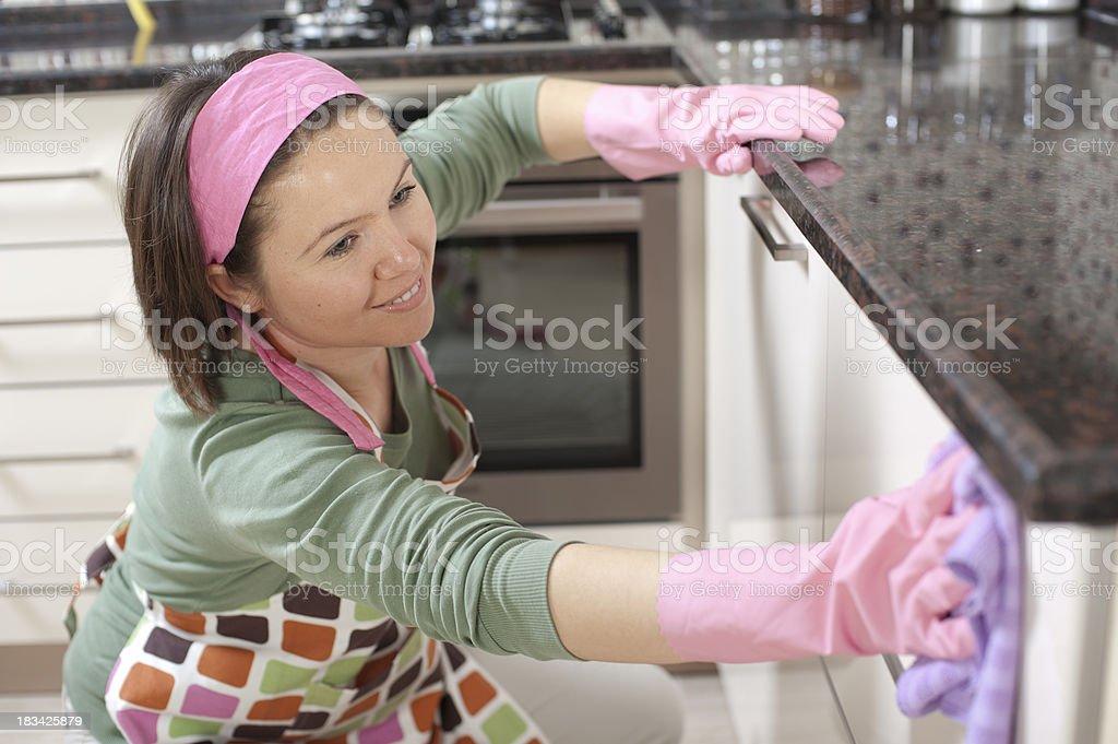 Cleaner stock photo