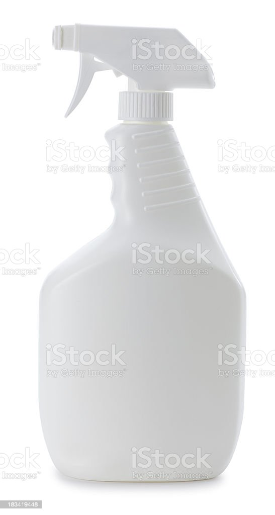 Cleaning Bottle stock photo