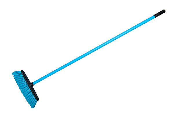 Cleaning broom Cleaning broom isolated on the white background broom stock pictures, royalty-free photos & images