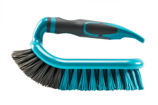 cleaning brush isolated on white cleaning brush isolated on white scrubbing brush stock pictures, royalty-free photos & images