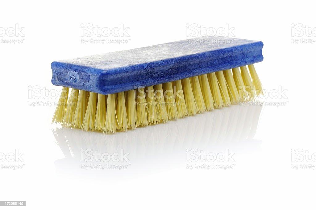 Cleaning brush stock photo