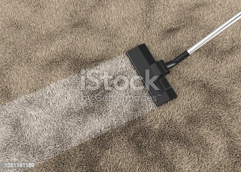 cleaning carpet, background, 3d rendering, cleaning service, vacuum