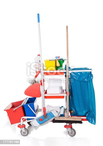 istock Cleaning Equipment 177761166