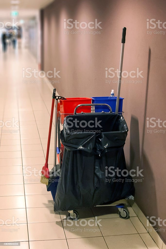Cleaning Equipments stock photo