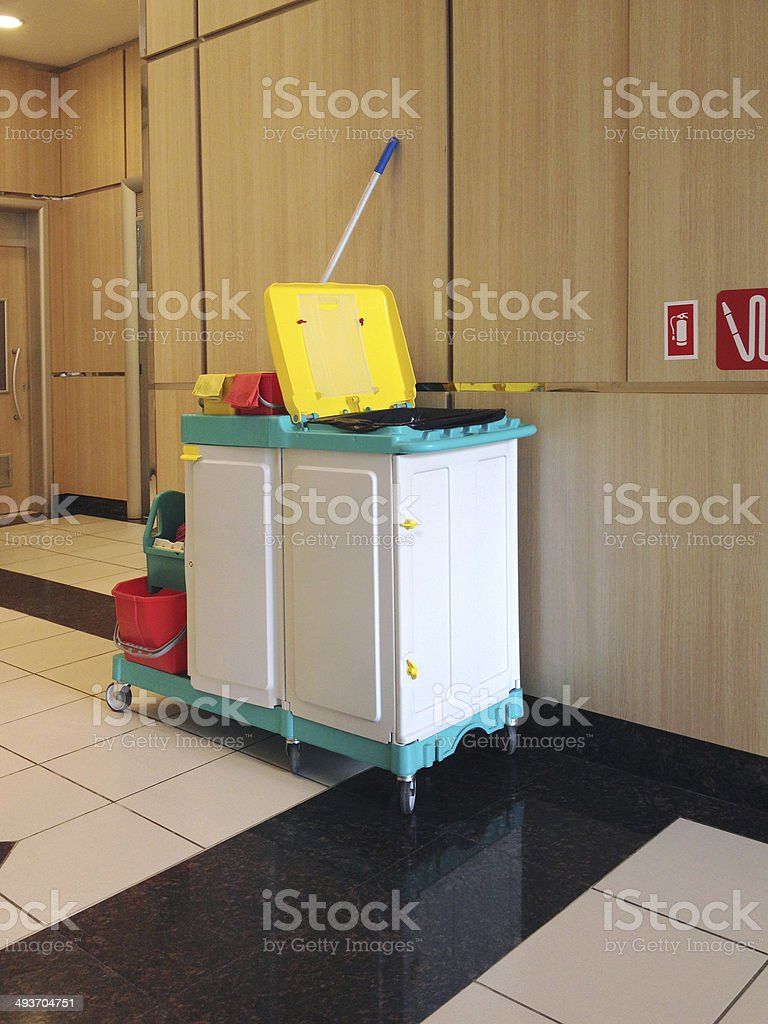 Cleaning Equipments (Click for more) stock photo