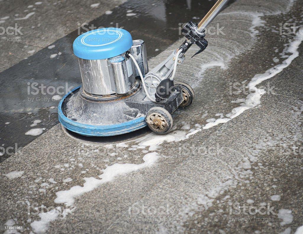 Cleaning  Floor stock photo
