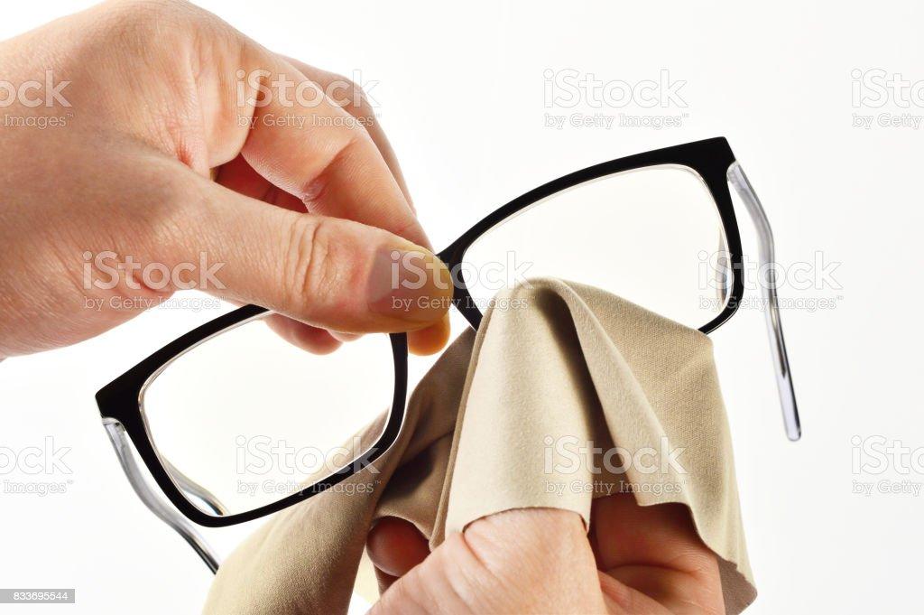 Reinigung der Gläser – Foto