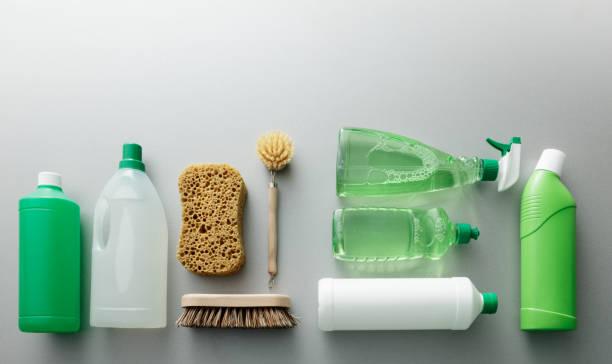 cleaning: green cleaning products still life - lysol stock pictures, royalty-free photos & images