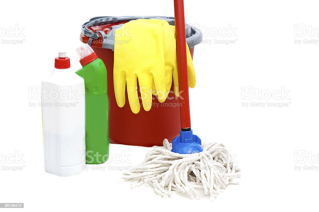Cleaning kit royalty-free stock photo