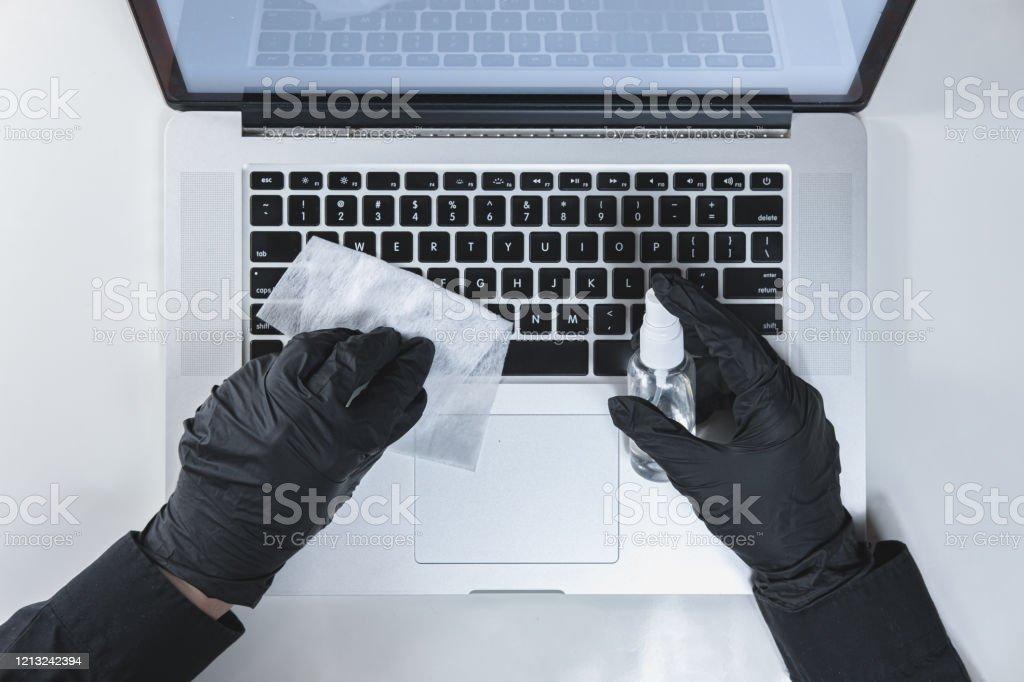 パソコン キーボード 消毒