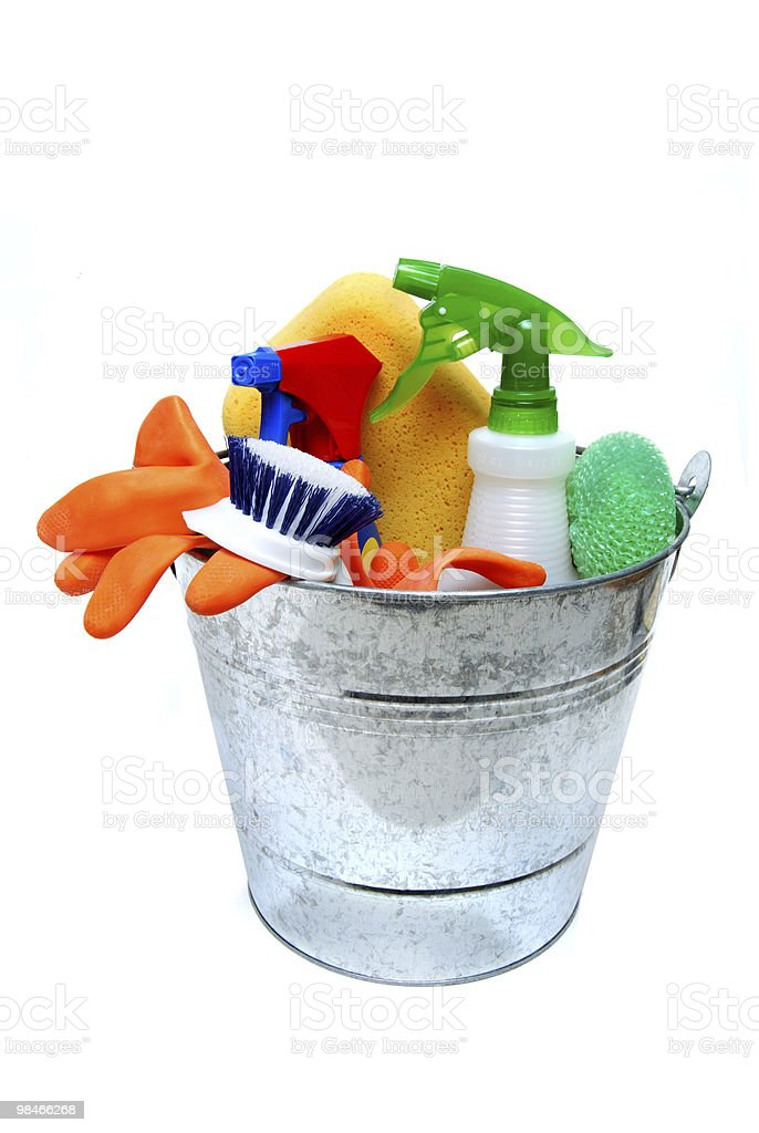 Cleaning Pail royalty-free stock photo