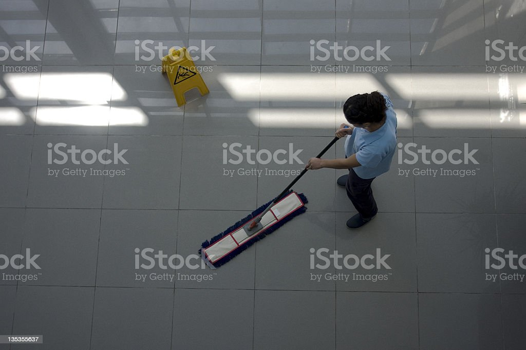 cleaning royalty-free stock photo
