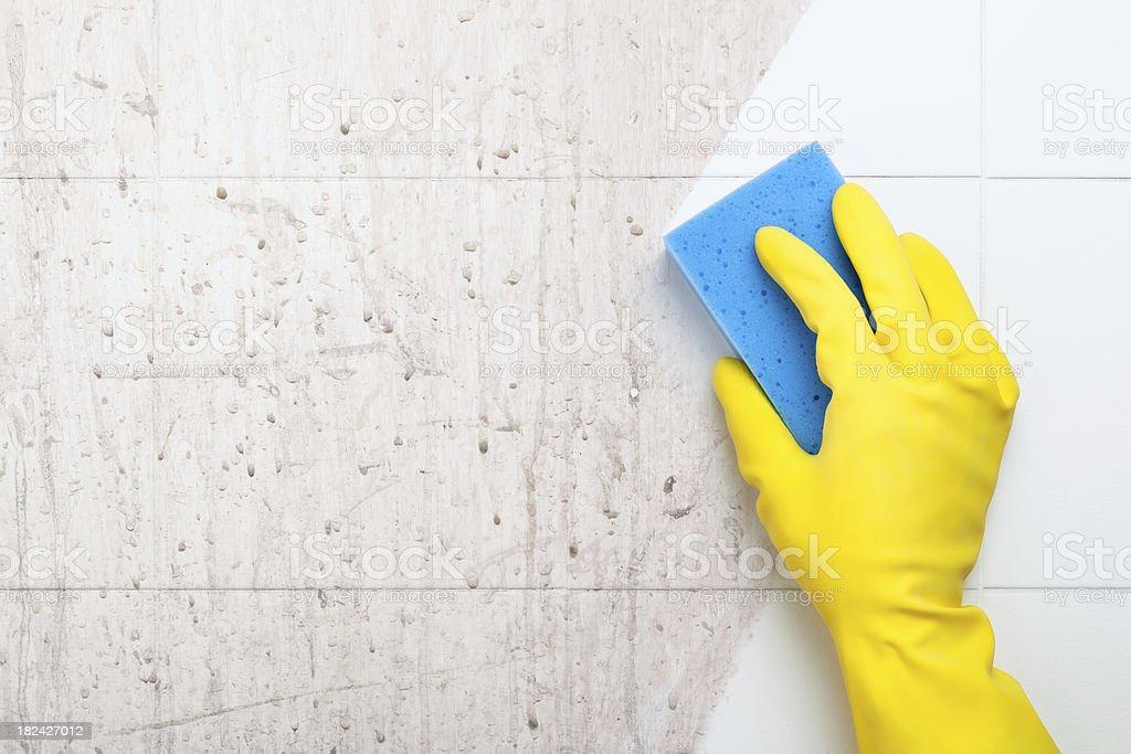 Reinigung - Lizenzfrei Arbeiten Stock-Foto