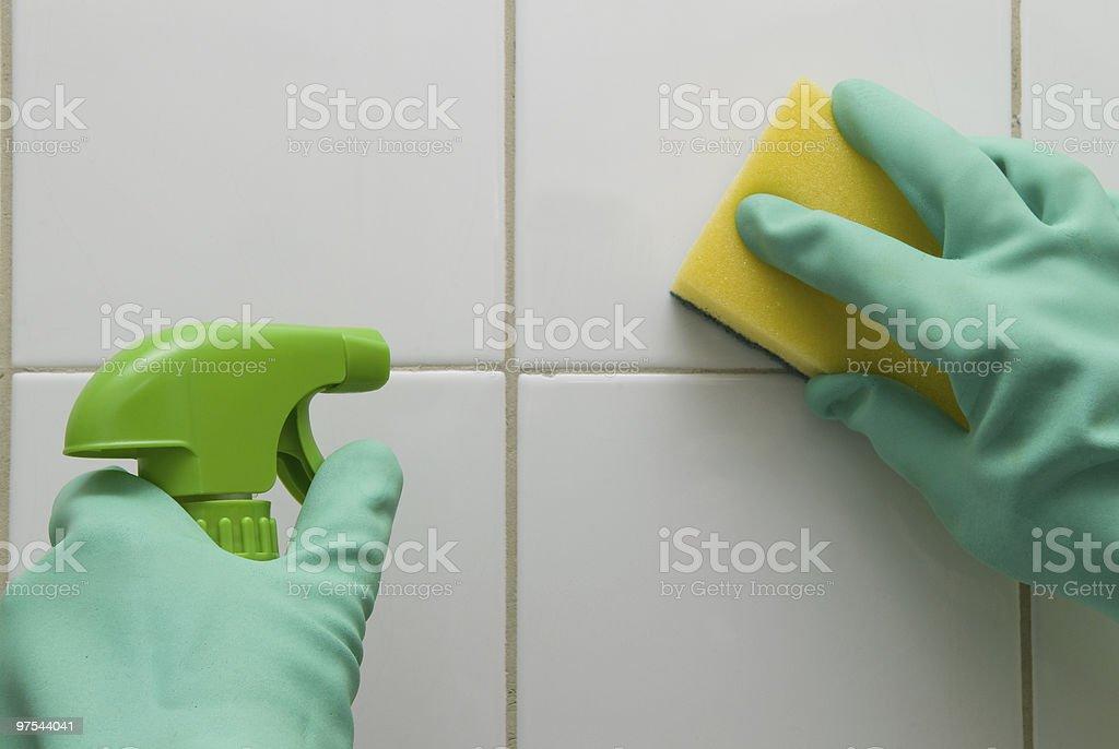 De nettoyage photo libre de droits