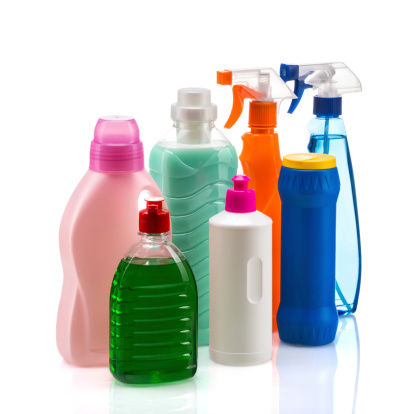 istock Cleaning product plastic container for house clean 478652701