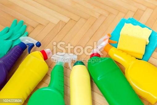 istock Cleaning Products 1024223534