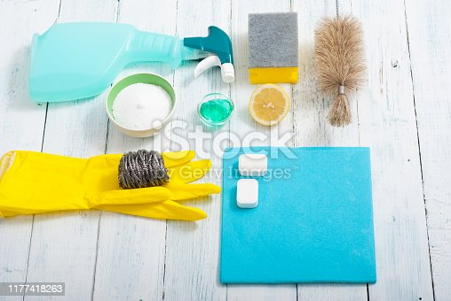 istock Cleaning products 1177418263