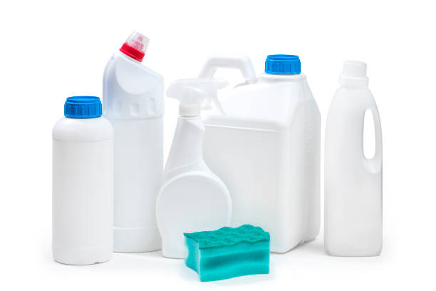 cleaning products - bleach stock pictures, royalty-free photos & images