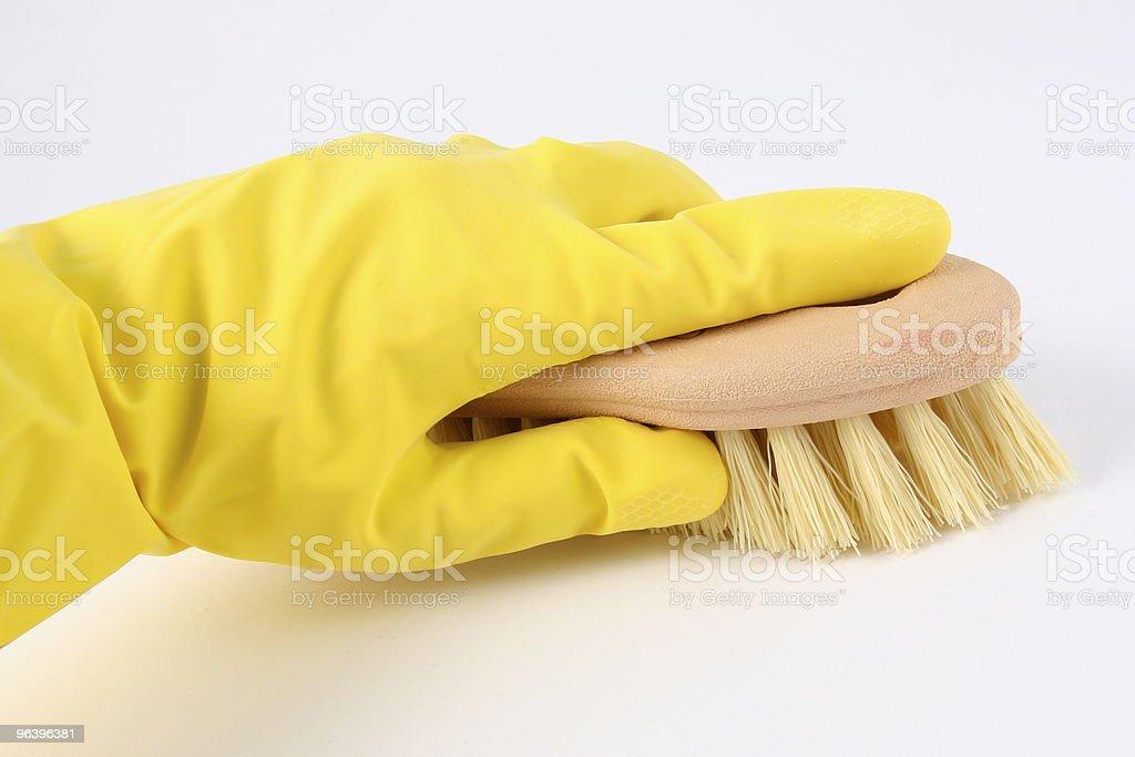 Cleaning Scrub Brush - Royalty-free Bristle - Animal Part Stock Photo