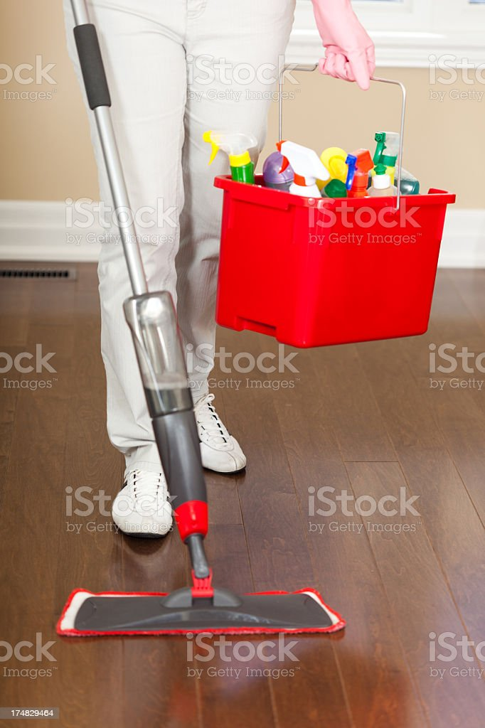 Cleaning Services royalty-free stock photo