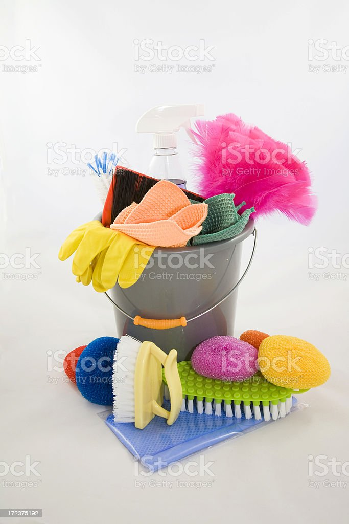 Cleaning Supplies 5 royalty-free stock photo