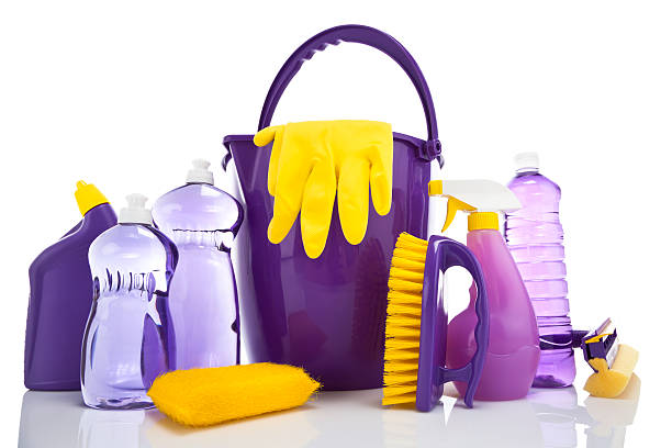 cleaning supplies - disinfectant stock pictures, royalty-free photos & images