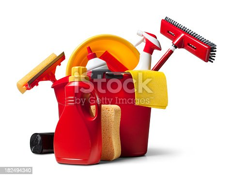 istock Cleaning supplies 182494340