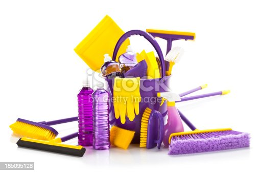 istock Cleaning Supplies 185095128