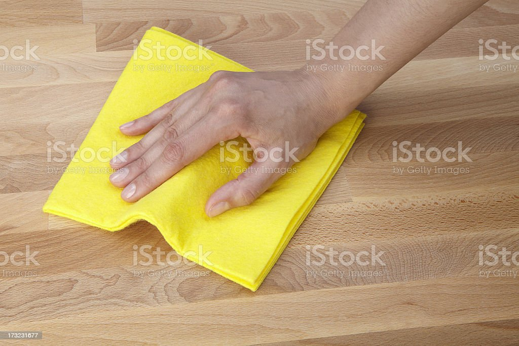 Cleaning surface royalty-free stock photo