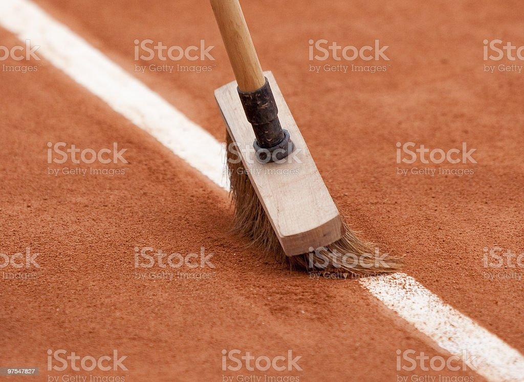 Nettoyage les lignes photo libre de droits