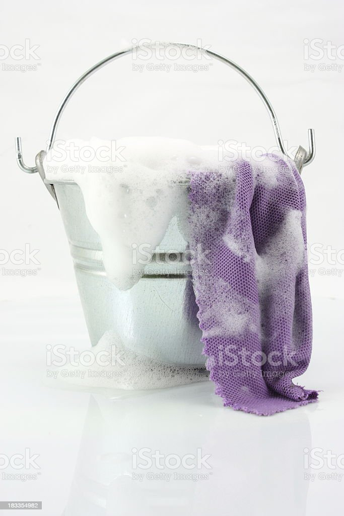 Cleaning time stock photo