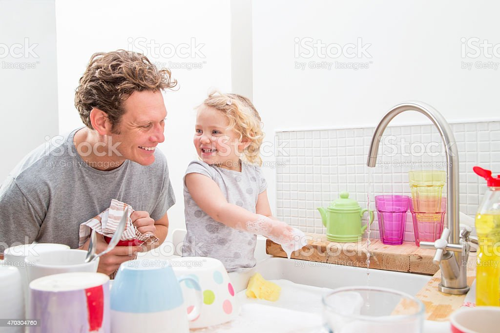 Cleaning Time! stock photo
