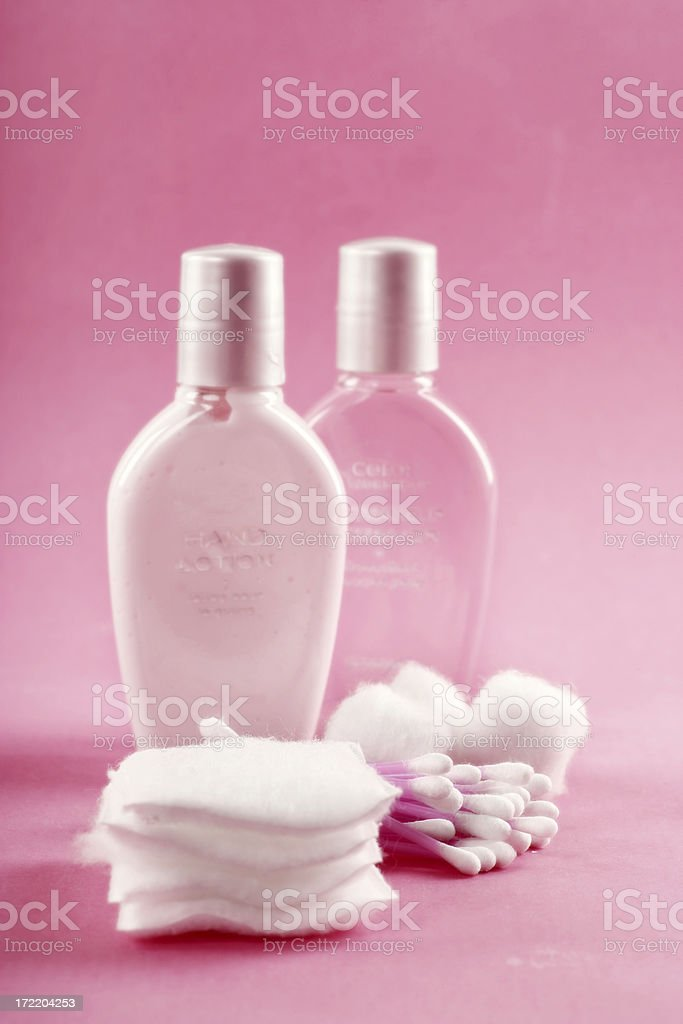 Cleanser royalty-free stock photo