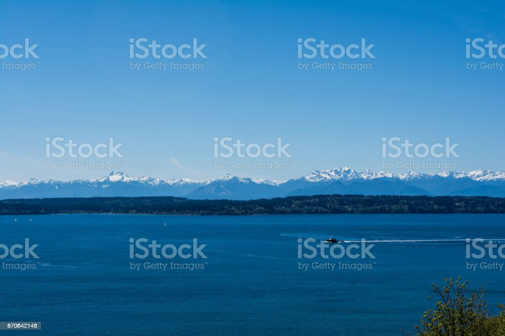 Clear and Blue Olympics stock photo
